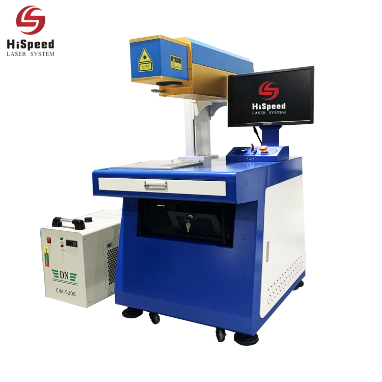 Hispeed leather laser marking machine: