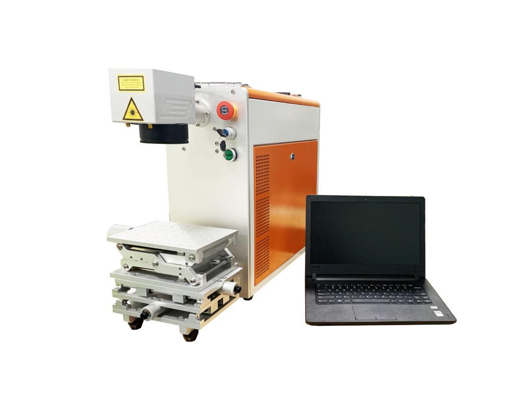 20W Portable Fiber Mini Laser Engraving Machine for Metal