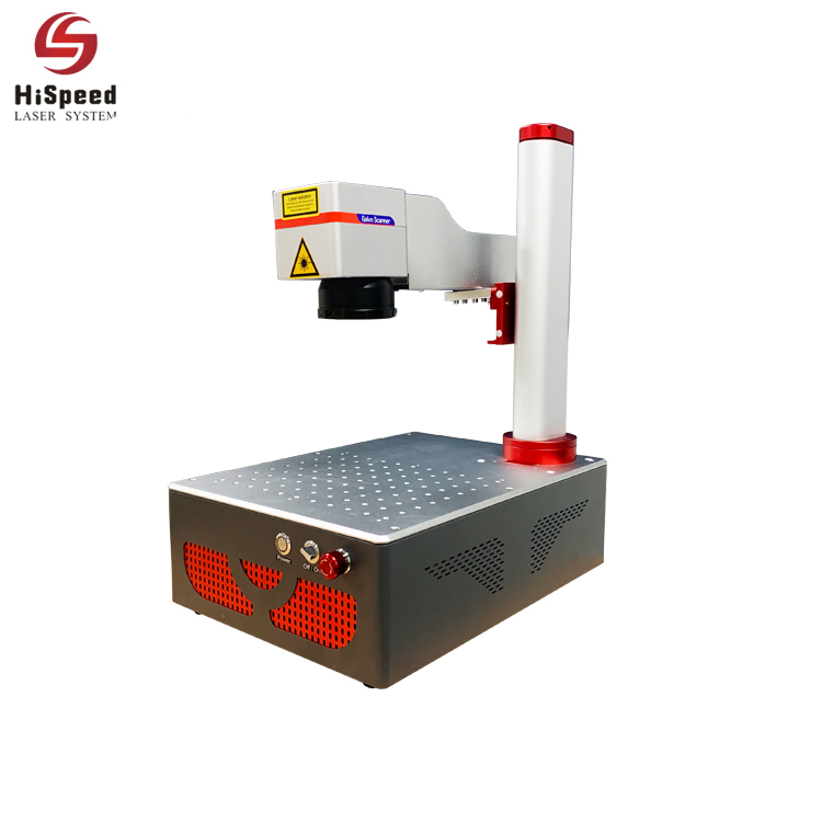22KG Mini Portable Fiber Laser Marking Machine