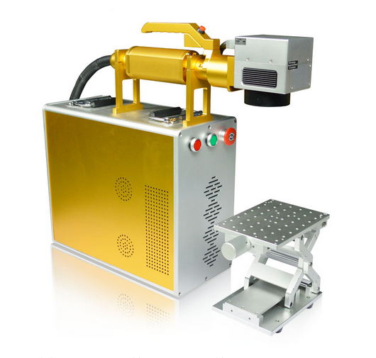 Hispeed MOPA Fiber Laser Marking Machine