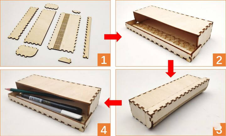laser cutting drawing design tool